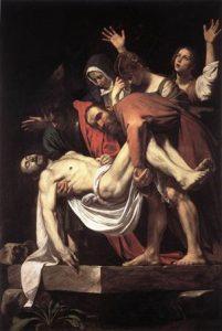 Caravaggio, Deposizione nel sepolcro, 1602-04, Pinacoteca Vaticana